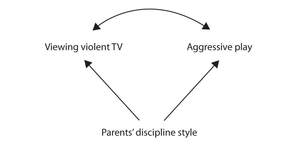 medium resolution of perhaps the parents discipline style causes children to watch violent tv and play aggressively