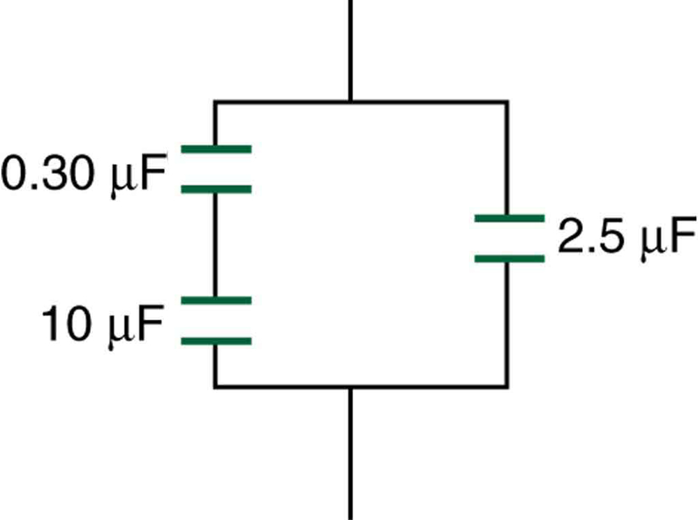 Capacitors in Series and Parallel