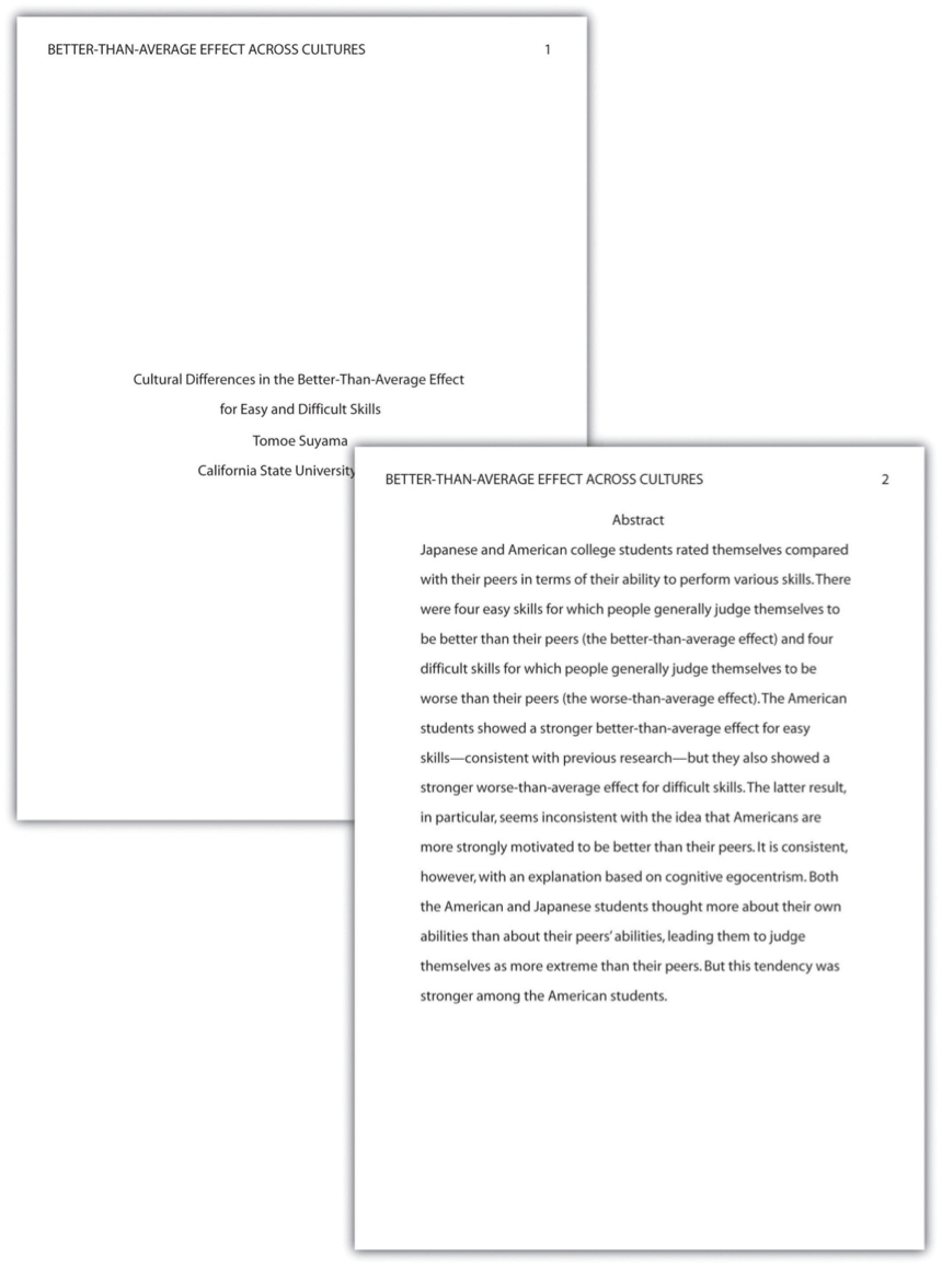Essay Apa Sample Job Application Letter University Case Study