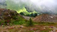 Lake below Sauk Mountain
