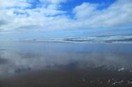 Blue Beach and Ocean