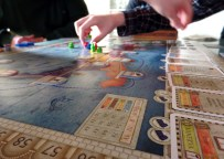 Got destroyed at a strategy board game by Hjalti and Julien