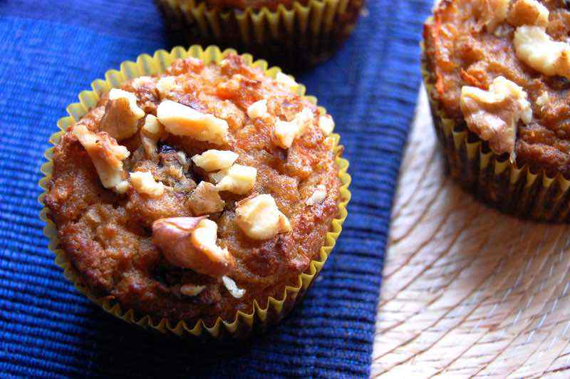 Recipe for Paleo Morning Glory Muffins