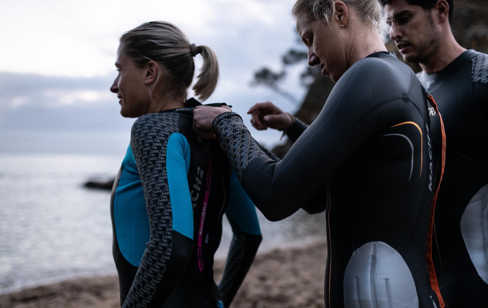 dare2tri wetsuit
