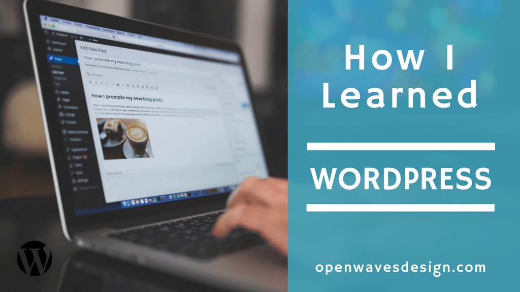 How I learned WordPress