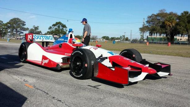 2014 Verizon IndyCar Series Driver Car Quiz - 2014 car 19 bsa sebring