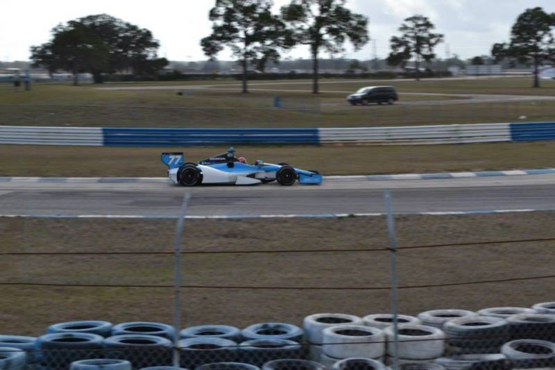 2014 car 77 sebring testing