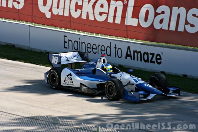 2014 Detroit GP Q2 - 5 - PH