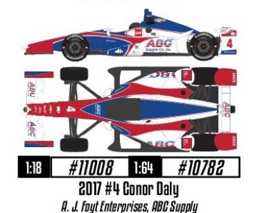 2017 INDYCAR #4 - 2017 CAR 4 JAN GREENLIGHT