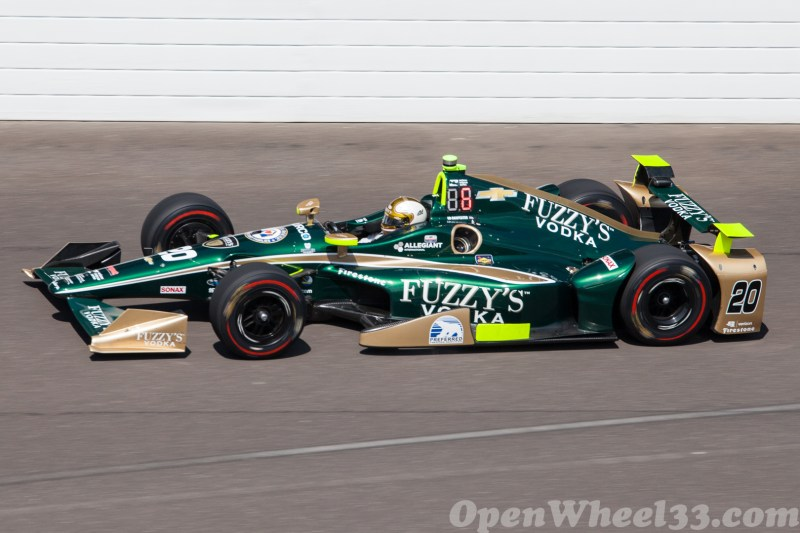 Liveries of the 101st Running of the Indianapolis 500 Mile Race - 2017 INDY500 CD No. 20