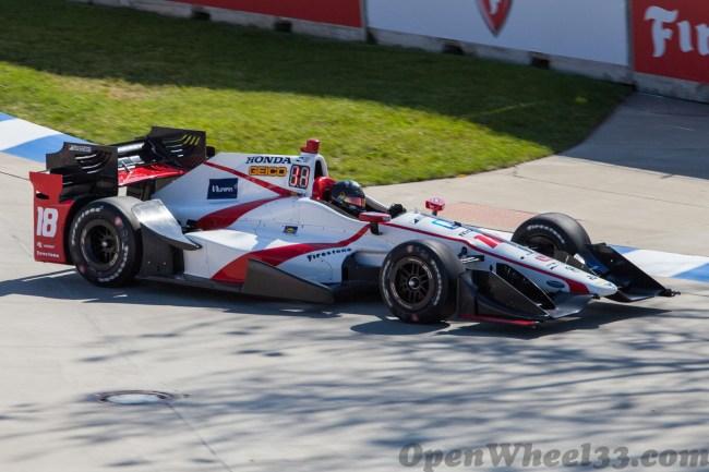 2017 Verizon IndyCar Series Driver Car Quiz - 2017 DETROIT SAT No. 18