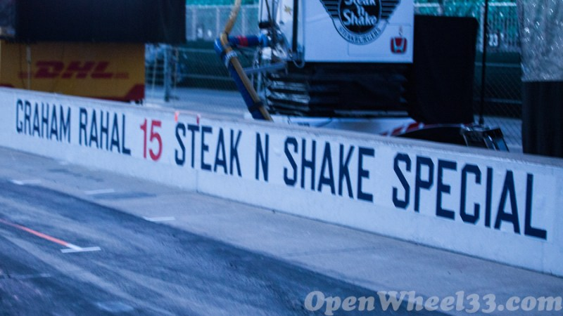 Pit Walls of the 101st Running of the Indianapolis 500 Mile Race - 2017 INDY500 PW No. 15