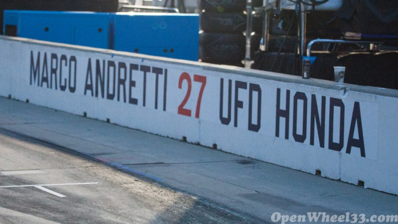 Pit Walls of the 101st Running of the Indianapolis 500 Mile Race - 2017 INDY500 PW No. 27
