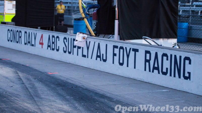 Pit Walls of the 101st Running of the Indianapolis 500 Mile Race - 2017 INDY500 PW No. 4