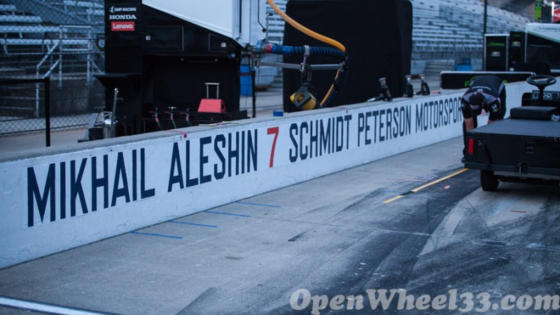 Pit Walls of the 101st Running of the Indianapolis 500 Mile Race - 2017 INDY500 PW No. 7