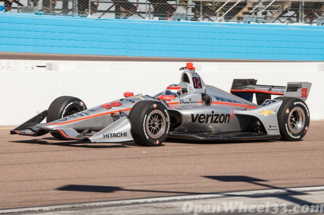 2018 Verizon IndyCar Series Driver Car Quiz - 2018 Phoenix Test No. 12