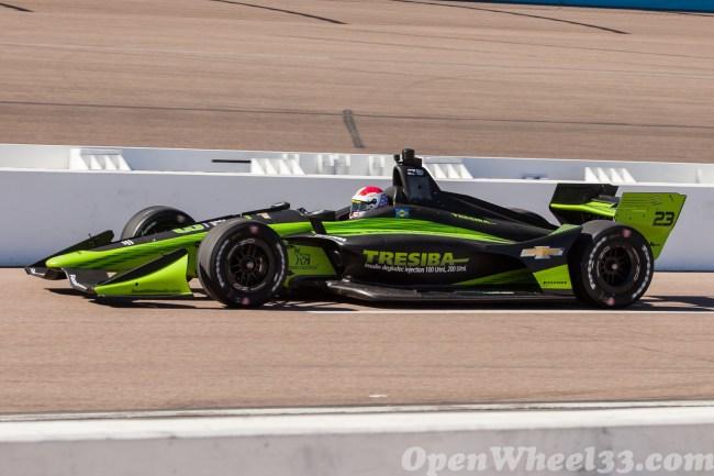 2018 Verizon IndyCar Series Driver Car Quiz - 2018 Phoenix Test No. 23