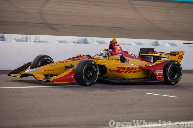 2018 Verizon IndyCar Series Driver Car Quiz - 2018 Phoenix Test No. 28
