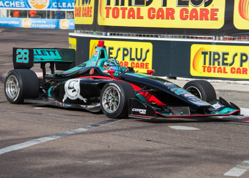 2018 Indy Lights Liveries From St. Petersburg - 2018 ST PETE LIGHTS No. 28