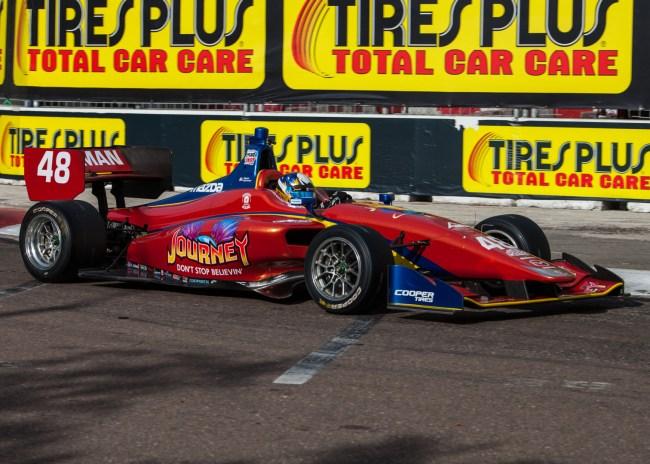 Driver/Car Quiz - 2018 Indy Lights Liveries - 2018 ST PETE LIGHTS No. 48