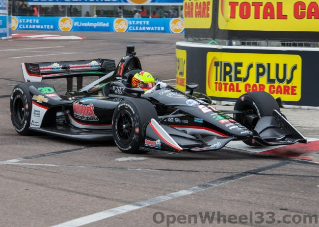 2018 Verizon IndyCar Series Driver Car Quiz - 2018 ST PETE No. 21