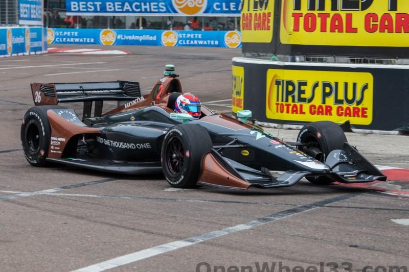 2018 Verizon IndyCar Series Firestone GP of St. Petersburg Liveries - 2018 ST PETE No. 26