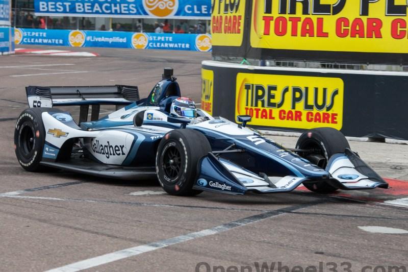 2018 Verizon IndyCar Series Firestone GP of St. Petersburg Liveries - 2018 ST PETE No. 59