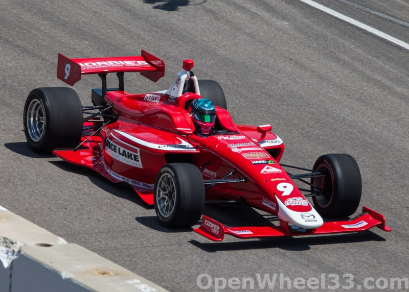 2018 Indy Lights Liveries From The Freedom 100 - 2018 INDY 500 CD LIGHTS No. 9