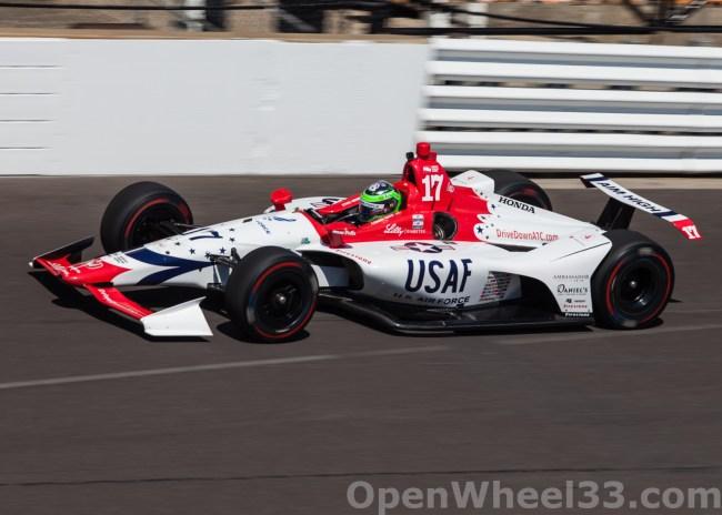 2018 Verizon IndyCar Series Driver Car Quiz - 2018 INDY 500 CD No. 17
