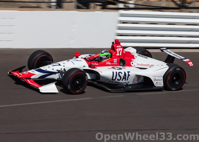 Liveries of the 102nd Running of the Indianapolis 500 Mile Race - 2018 INDY 500 CD No. 17