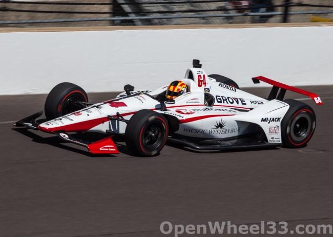 2018 Verizon IndyCar Series Driver Car Quiz - 2018 INDY 500 CD No. 64