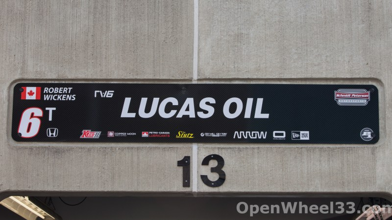 2018 Month of May Garage Signs at Indianapolis Motor Speedway - 2018 INDY 500 GS 6t