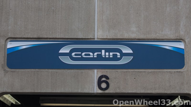 2018 Month of May Garage Signs at Indianapolis Motor Speedway - 2018 INDY 500 GS CARLIN