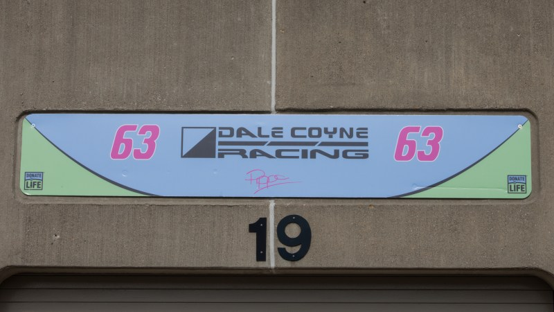 2018 Month of May Garage Signs at Indianapolis Motor Speedway - 2018 INDY 500 GS No. 63