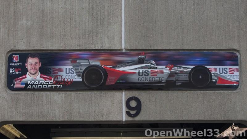 2018 Month of May Garage Signs at Indianapolis Motor Speedway - 2018 INDY 500 GS No. 98