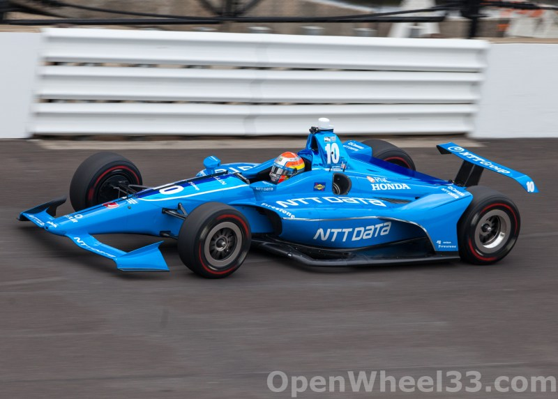 Liveries of the 102nd Running of the Indianapolis 500 Mile Race - 2018 INDY 500 P3 No. 10