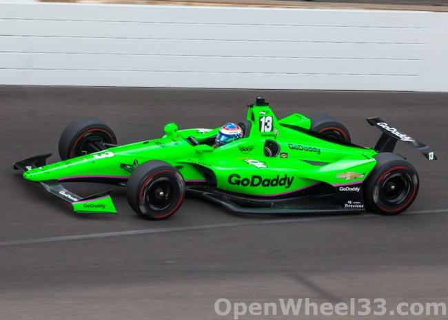 2018 Verizon IndyCar Series Driver Car Quiz - 2018 INDY 500 P3 No. 13