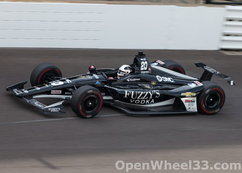 Liveries of the 102nd Running of the Indianapolis 500 Mile Race - 2018 INDY 500 P3 No. 20