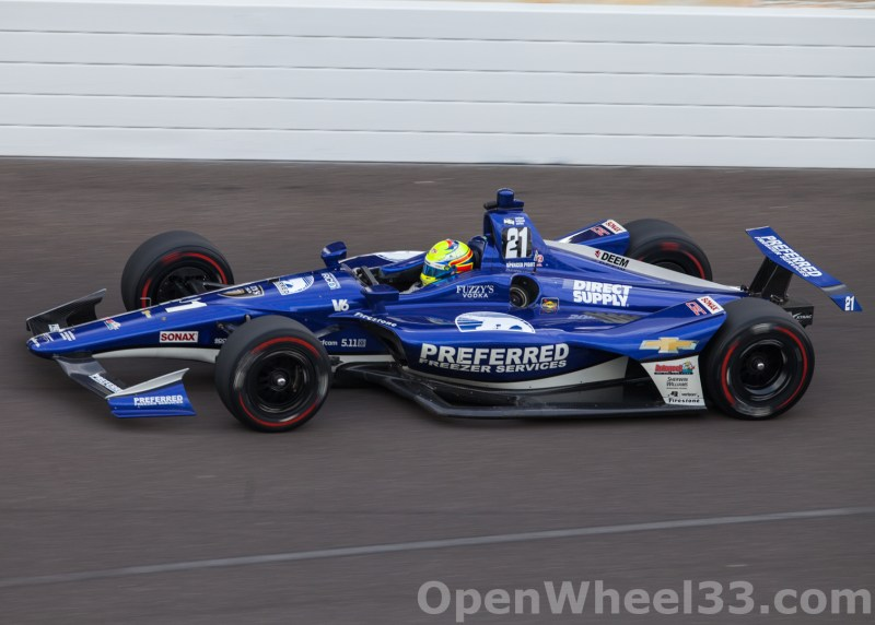 Liveries of the 102nd Running of the Indianapolis 500 Mile Race - 2018 INDY 500 P3 No. 21