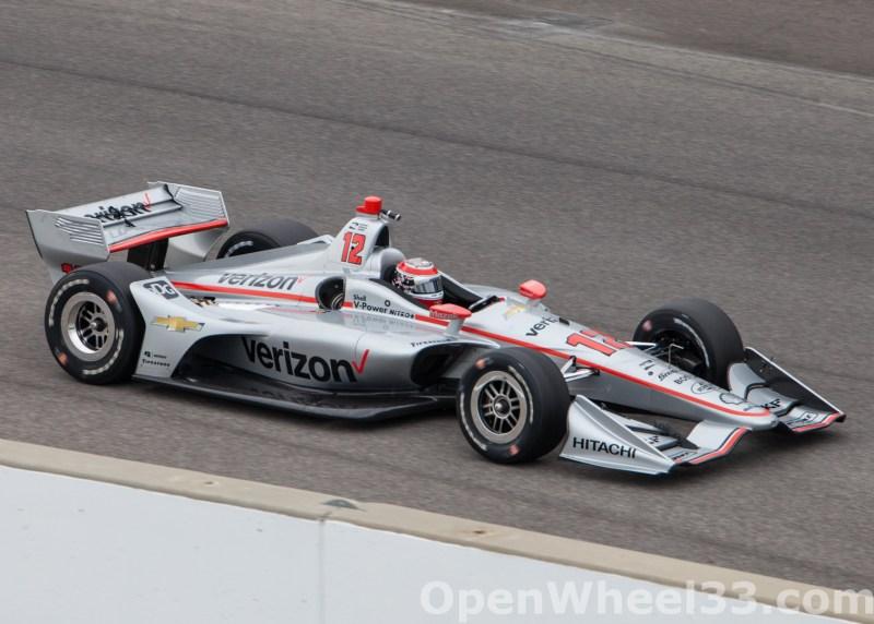 2018 Verizon IndyCar Series INDYCAR Grand Prix Liveries - 2018 INDYGP No. 12 Copy