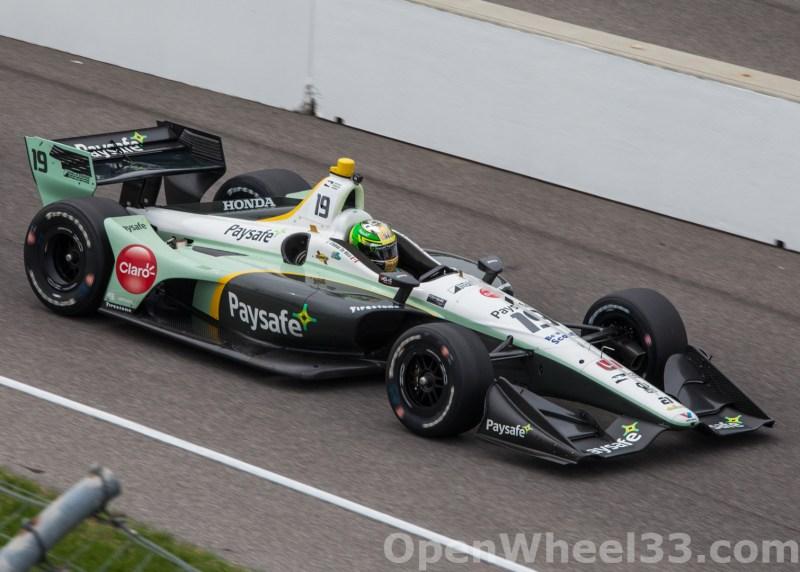 2018 Verizon IndyCar Series INDYCAR Grand Prix Liveries - 2018 INDYGP No. 19