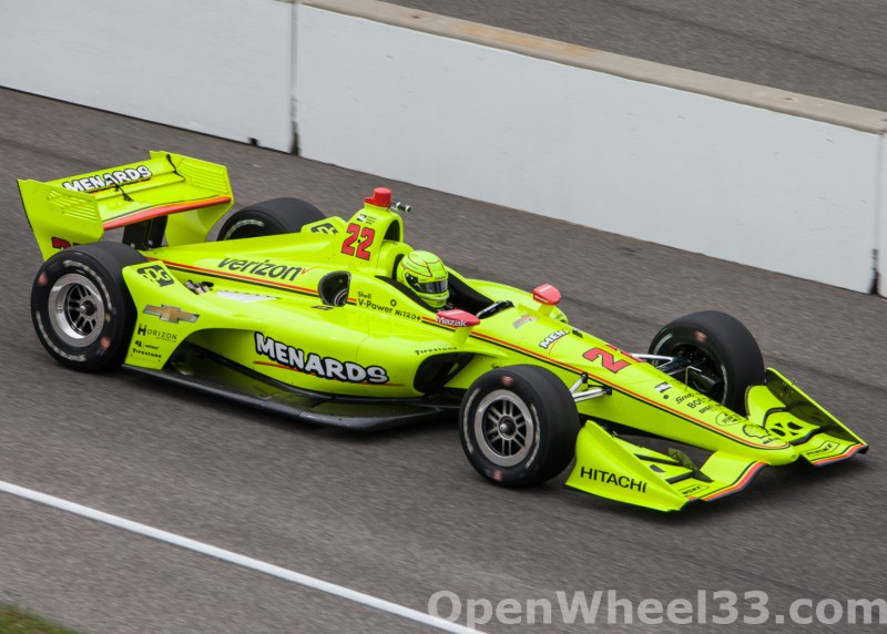 2018 Verizon IndyCar Series INDYCAR Grand Prix Liveries - 2018 INDYGP No. 22