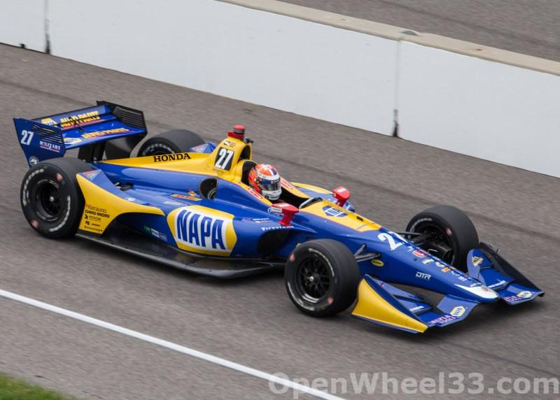 2018 Verizon IndyCar Series INDYCAR Grand Prix Liveries - 2018 INDYGP No. 27