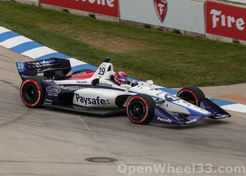 2018 Verizon IndyCar Series Chevrolet Detroit Grand Prix Liveries - 2018 DETROIT GP No. 19