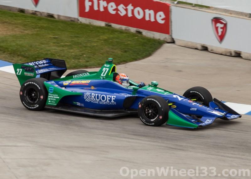 2018 Verizon IndyCar Series Chevrolet Detroit Grand Prix Liveries - 2018 DETROIT GP No. 27