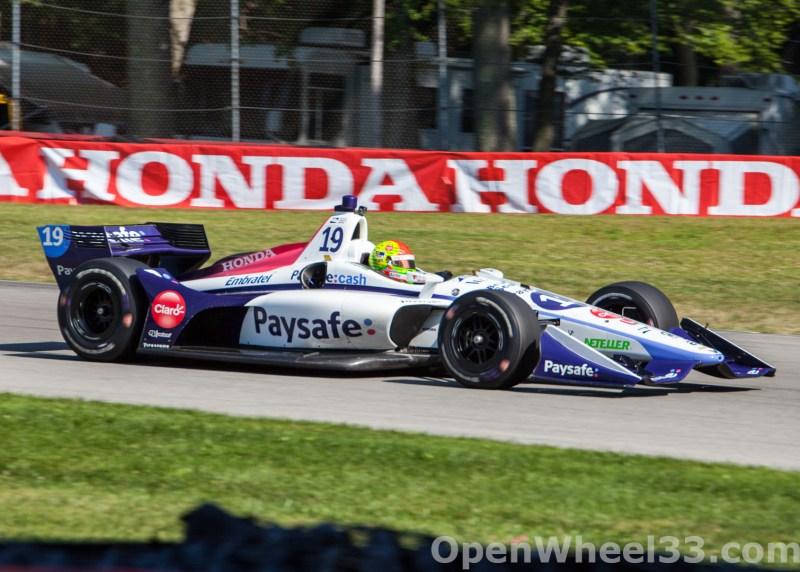 2018 Verizon IndyCar Series Honda Indy 200 at Mid-Ohio Liveries - 2018 MIDOHIO No. 19