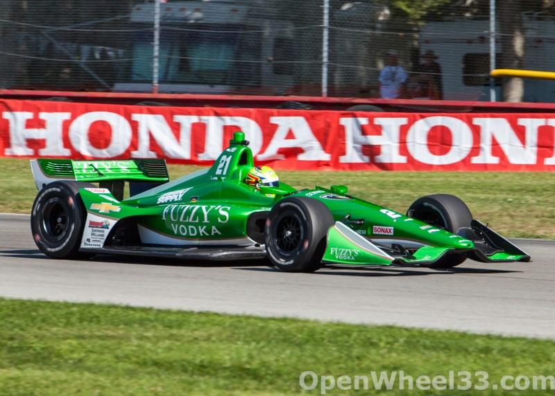 2018 Verizon IndyCar Series Honda Indy 200 at Mid-Ohio Liveries - 2018 MIDOHIO No. 21