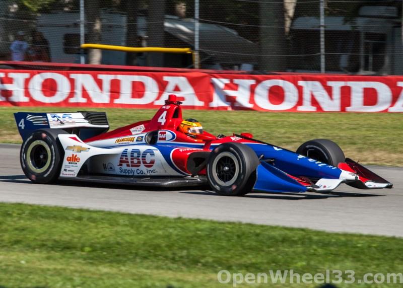 2018 Verizon IndyCar Series Honda Indy 200 at Mid-Ohio Liveries - 2018 MIDOHIO No. 4