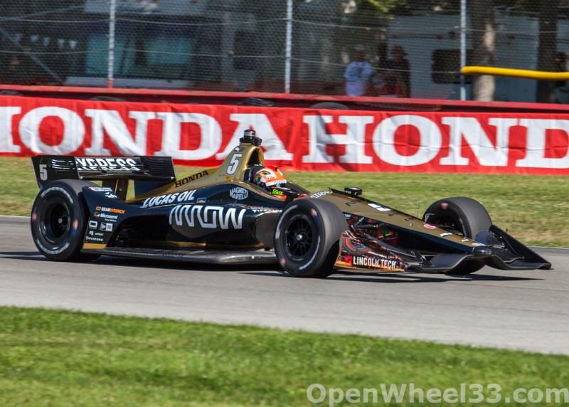 2018 Verizon IndyCar Series Honda Indy 200 at Mid-Ohio Liveries - 2018 MIDOHIO No. 5