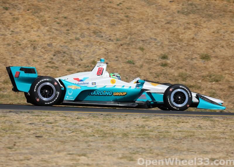 2018 Verizon IndyCar Series INDYCAR Grand Prix of Sonoma Liveries - 2018 SONOMA No. 8